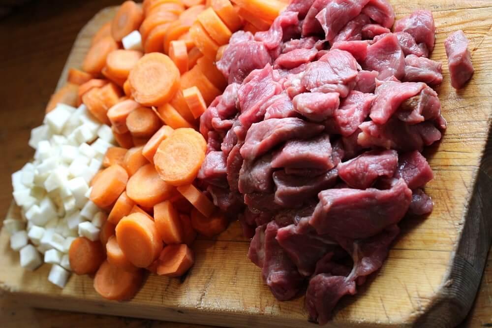 בשר בקר עם ירקות